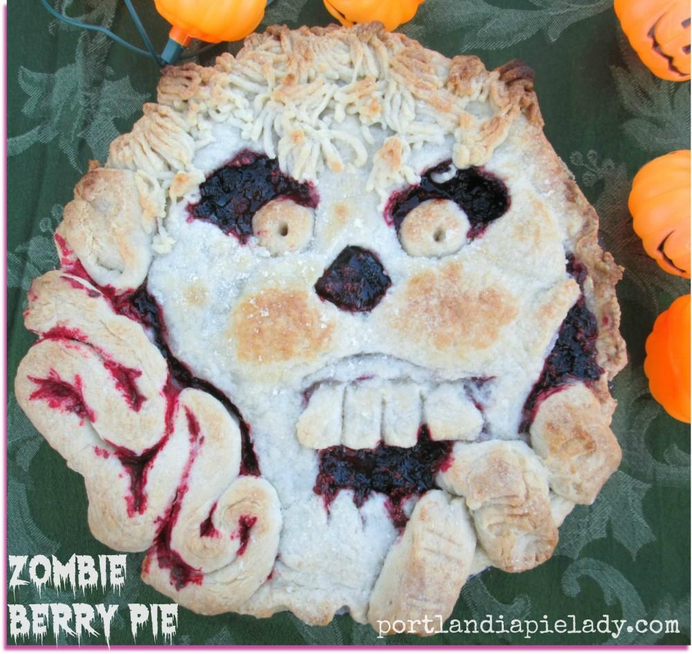 Baked Zombie Berry Pie