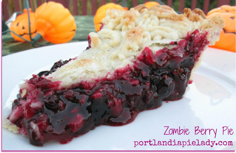 Zombie Berry Pie Slice