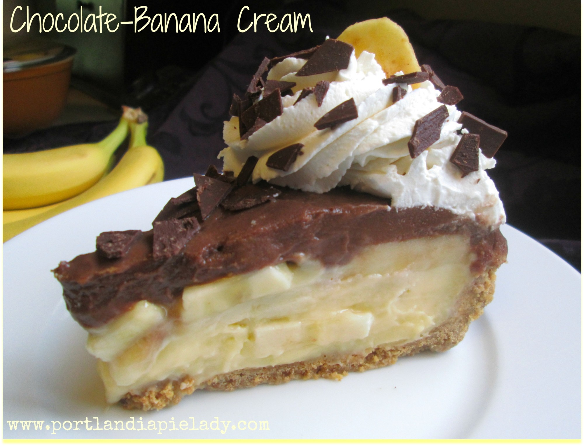 Choc-Banana Slice