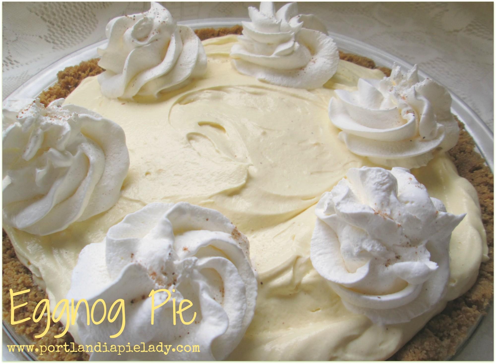 Eggnog Pie 2