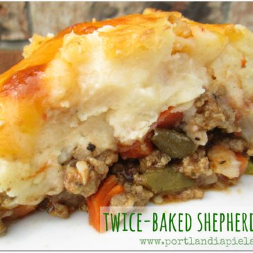 Twice-Baked Shepherds Pie