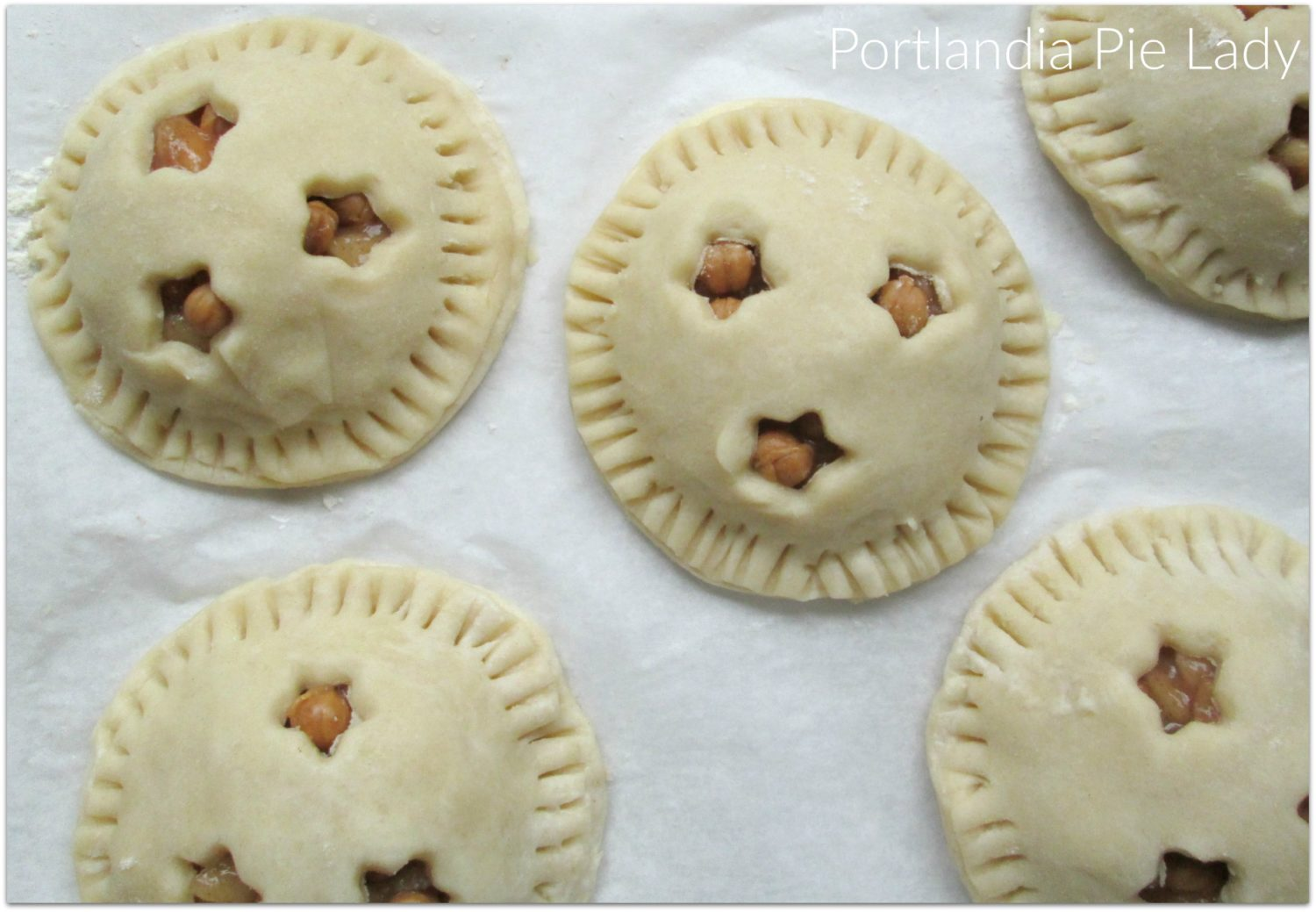 Assembled Hand Pies