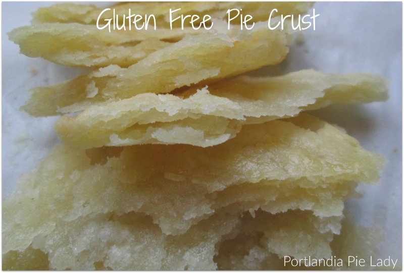 Gluten Free Flour Mix works like magic in making gluten free pie crust. You won't be missing out on a single pie ever again!