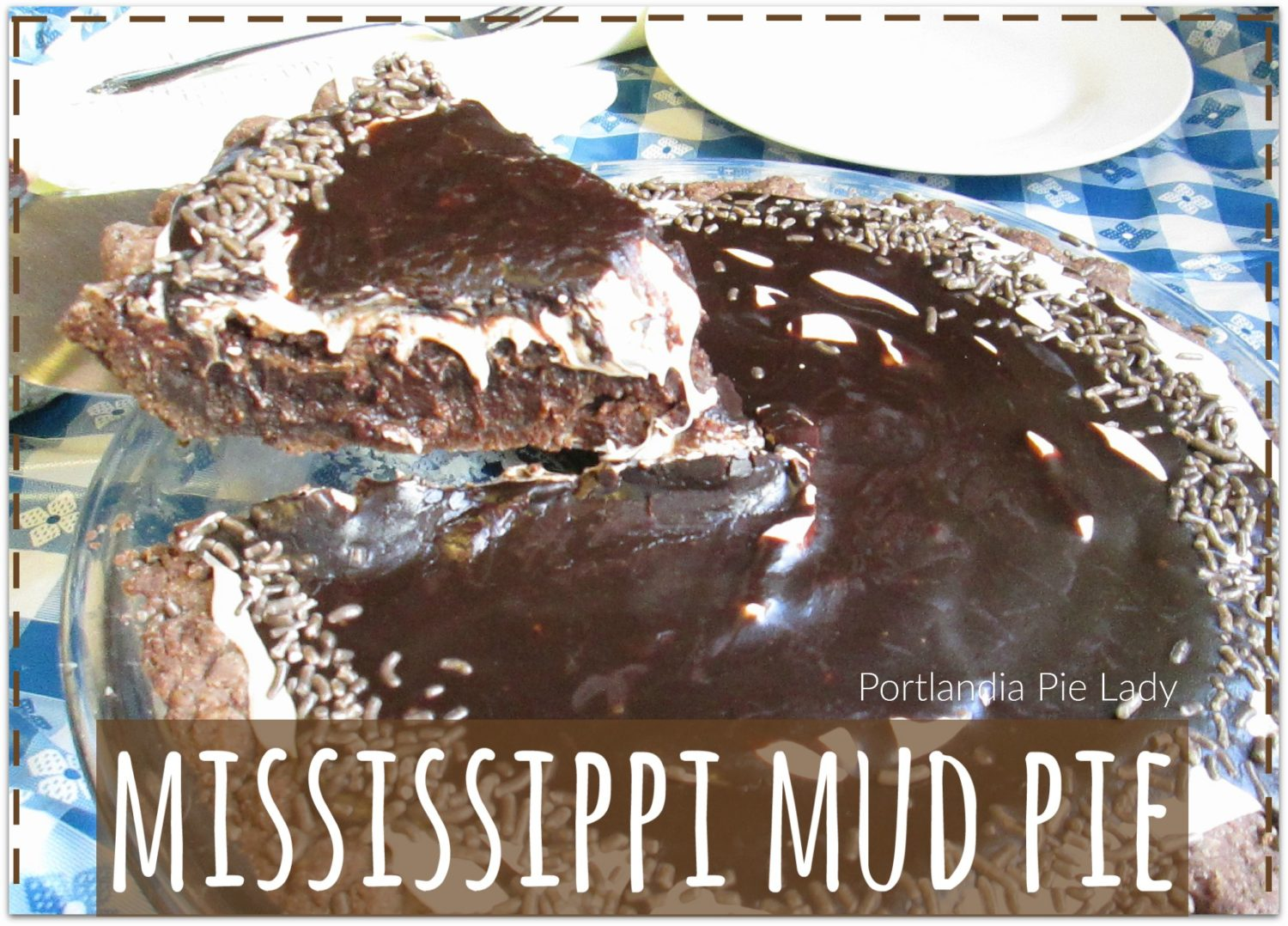 Mississippi Mud Pie: Dive into this ultra chocolaty gooey brownie pie filling, oozing with loads of marshmallow creme, and dripping with a fudge icing sauce; be still my heart.