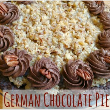 German Chocolate Pie