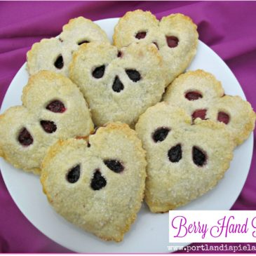 Valentine Berry Hand Pies