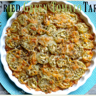 Fried Green Tomato Tart