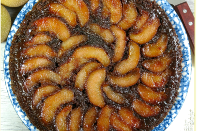 Spiced Pear Skillet Tart